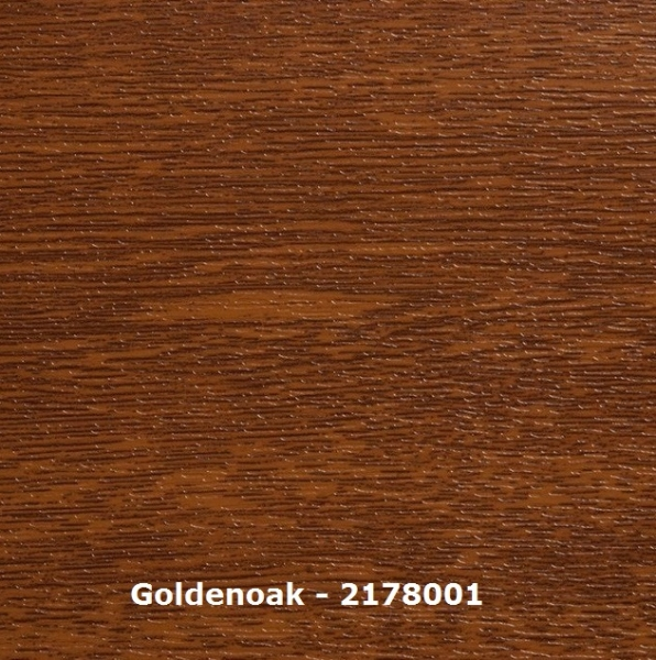 U-Profil - U3520 - golden oak - L=135 cm - Nutbreite 20 mm